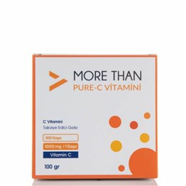 More Than Pure C Vitamin 100 Saşe