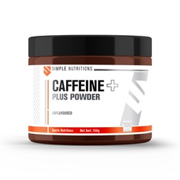 Simple Nutritions Caffeine Plus Unflavoured 250 gr (100 Servis)
