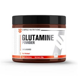 Simple Nutritions Glutamine Unflavoured 250 gr