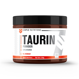 Simple Nutritions Taurine Unflavoured - 250 gr